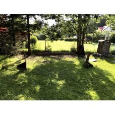 Slackline hřiště bez stromů